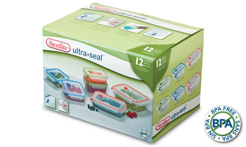 0301 - Ultra�Seal� 12 Piece Set
