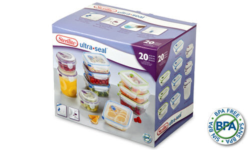 0306 - Ultra�Seal� 20 Piece Set