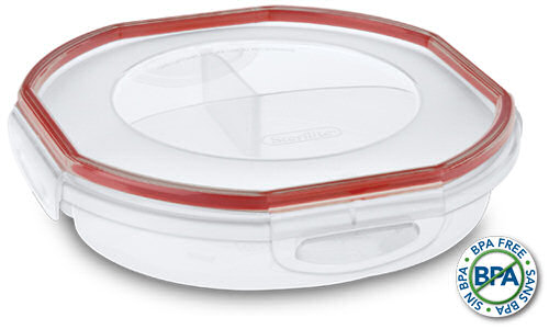 0391 - UltraSeal 4.8 Cup Round Divided Dish