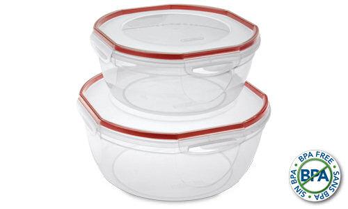 0396 - Ultra�Seal� 4 Piece Bowl Set
