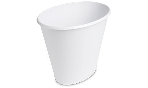 1019 - 2.5 Gallon Oval Wastebasket