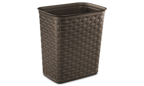 1034 - 3.4 Gallon Weave Wastebasket