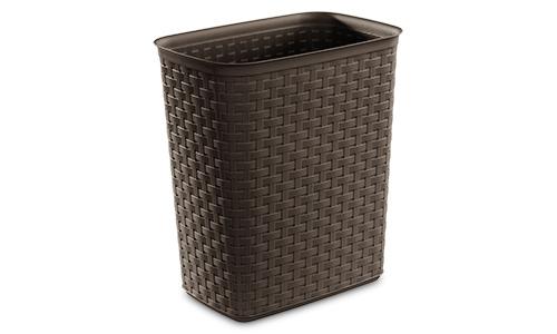 1038 - 5.8 Gallon Weave Wastebasket