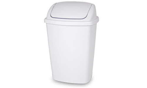 1068 - 7.5 Gallon Swing-Top Wastebasket