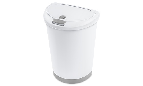 1071 - 12.3 Gallon Locking TouchTop™ Wastebasket