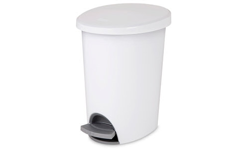1081 - 2.6 Gallon Ultra� Step-On Wastebasket