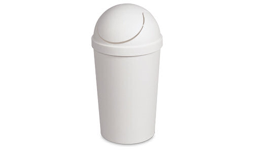 1083 - 3 Gallon Round Swing-Top Wastebasket
