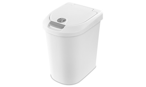 1099 - 7.3 Gallon Locking TouchTop™ Wastebasket