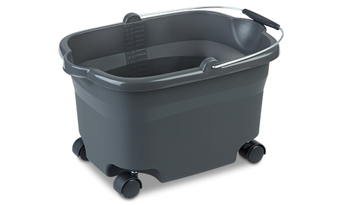 1127 - 20 Quart Wheeled Bucket