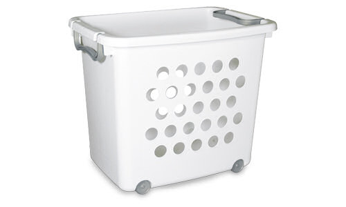 1282 - Large Ultra Wheeled Stacking Basket