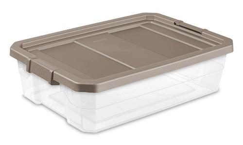 1474 - 40 Quart Modular Stacker Box