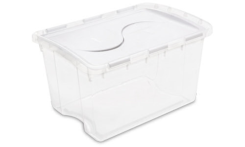 1914 - 48 Quart Hinged Lid Storage Box