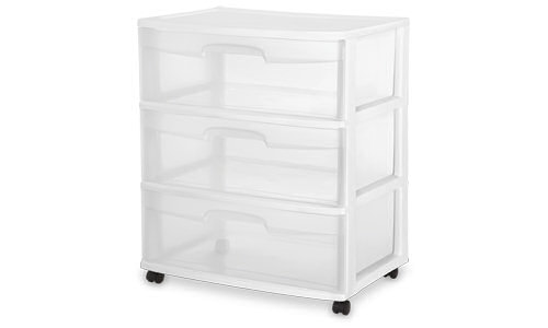 2930 - 3 Drawer Wide Cart