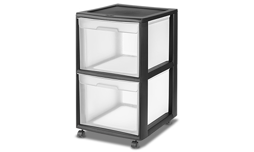 3420 - 2 Drawer File Cart