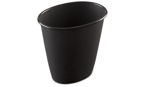 1011 - 1.5 Gallon Oval Vanity Wastebasket