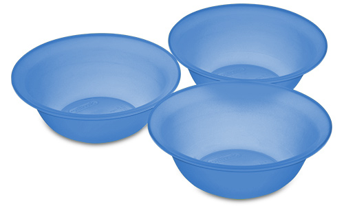 0723 - Set of Three 20 Ounce Bowls