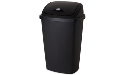 1088 - 13.2 Gallon Swing-Top Wastebasket
