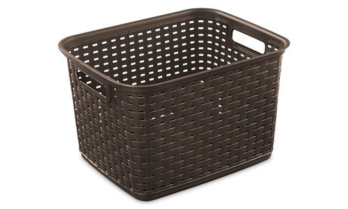 1273 - Tall Weave Basket