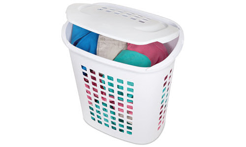 1221 - 2.3 Bushel Lift-Top Laundry Hamper