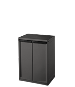 2 Shelf Cabinet
