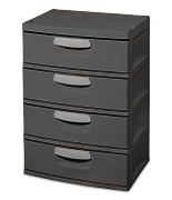 4 Drawer Unit