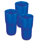 Set of Three 18 Ounce Tumblers