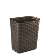 3.4 Gallon Weave Wastebasket