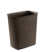 5.8 Gallon Weave Wastebasket