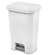 11.9 Gallon StepOn Wastebasket