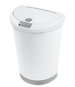 12.3 Gallon Locking TouchTop™ Wastebasket