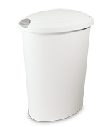 12.7 Gallon Touch-Top� Wastebasket