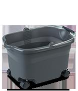 20 Quart Wheeled Bucket