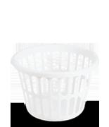 1.5  Bushel Round Laundry Basket