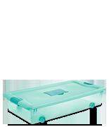56 Quart Wheeled Fresh Scent Box
