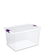 66 Quart ClearVIew Latch™ Box