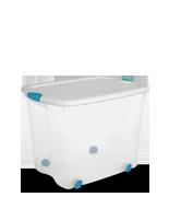 88 Quart Wheeled Latch Box