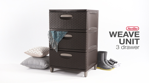 3 Weave Drawer Unit