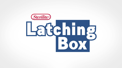 25 Quart Latching Box