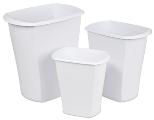 Open Wastebaskets