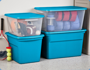 Basement and garage storage