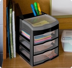 Ideal For Organizing And Accessing Those Items Used Most Frequently Like Pens Binder Clips Sticky Notes Or Small Accessories In An Office Or Around The