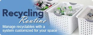 Manage recyclables with a system customized to your space