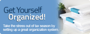 Get Yourself Organized for Tax Season