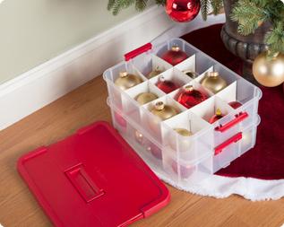 Ornament Storage Preserve For Years To Come Sterilite Corporation