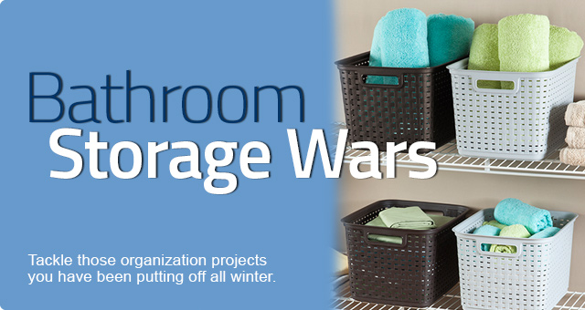 Bathroom Storage Wars