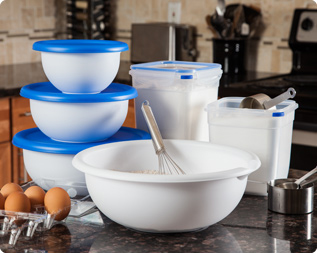 Thanksgiving food storage sterilite corporation for Signoraware organise your kitchen set 8 pieces