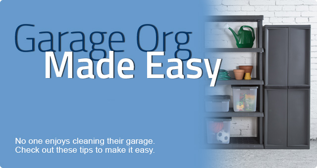 Garage Organization Made Easy