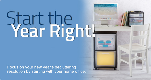 Start the Year Right with a Freshly Organized Office