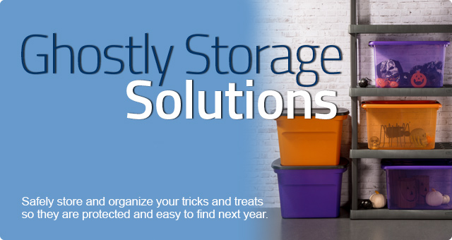 Ghostly Storage Solutions