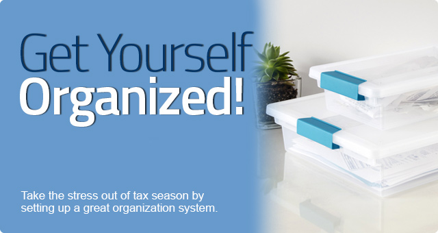 Get Organized Now for Tax Season